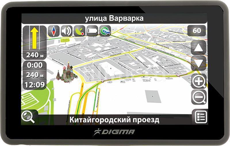 GPS навигатор DIGMA DS505N,  5