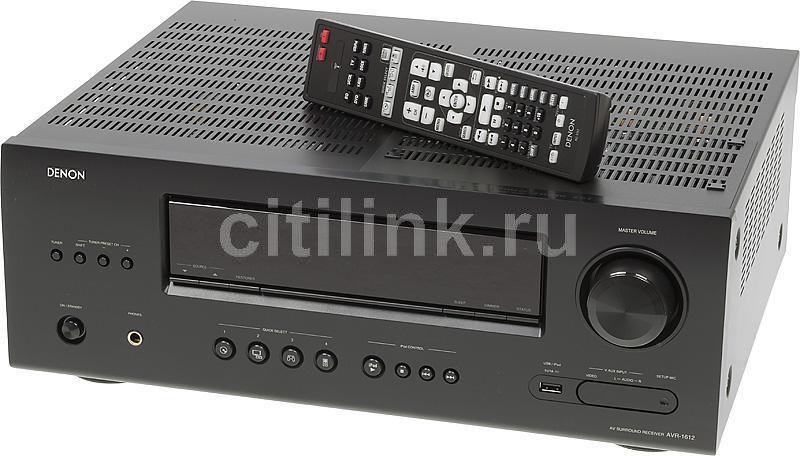 AV-ресивер DENON AVR-1612,  черный
