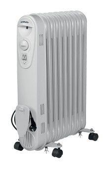 Масляный радиатор SCARLETT SC-1168 + SC-2160, 2000Вт, белый