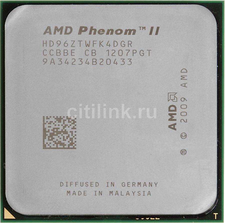 Процессор AMD Phenom II X4 960T, SocketAM3 OEM [hd96ztwfk4dgr]