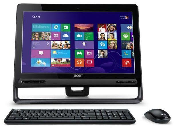 Моноблок ACER Aspire ZC-605, Intel Celeron 1007U, 4Гб, 500Гб, Intel HD Graphics, DVD-RW, Windows 8, черный [dq.sp3er.001]