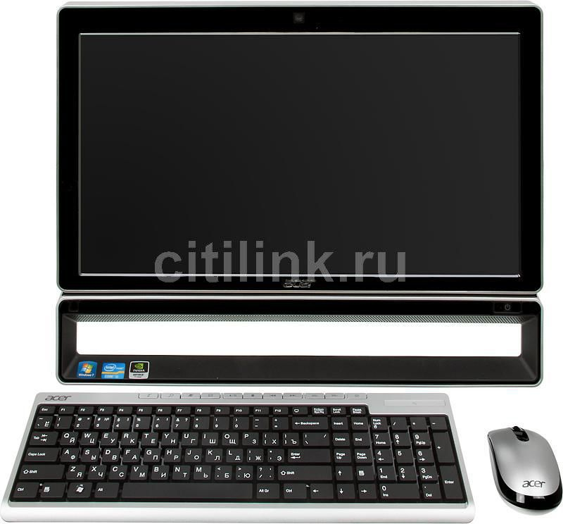 Моноблок ACER Aspire Z5771, Intel Core i5 2400S, 4Гб, 1000Гб, nVIDIA GeForce GT520M - 1024 Мб, DVD-RW, Windows 7 Home Premium, черный и серебристый [pw.shme2.044]