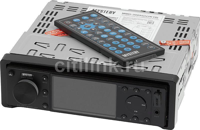 Автомагнитола MYSTERY MMD-3009S,  USB,  SD/MMC