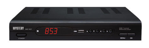 Ресивер DVB-T MYSTERY MMP-80DT,  черный