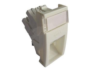 Модуль информационный Molex (MLG-00028-02) UTP Mosaic RJ45 кат.5e белый (упак.:1шт)