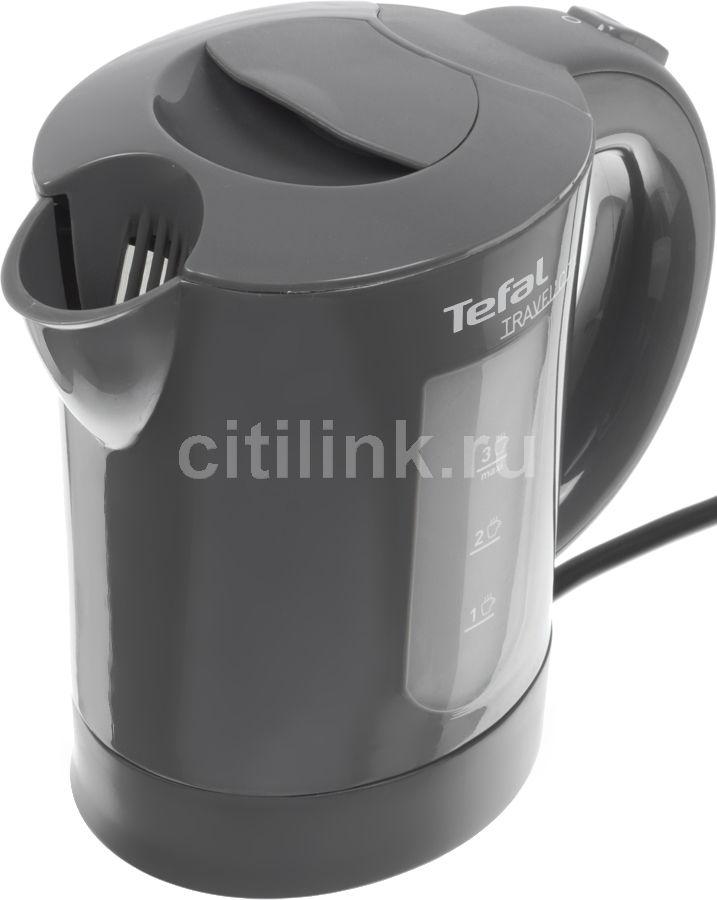 Чайник электрический TEFAL KO102B30, 650Вт, серый