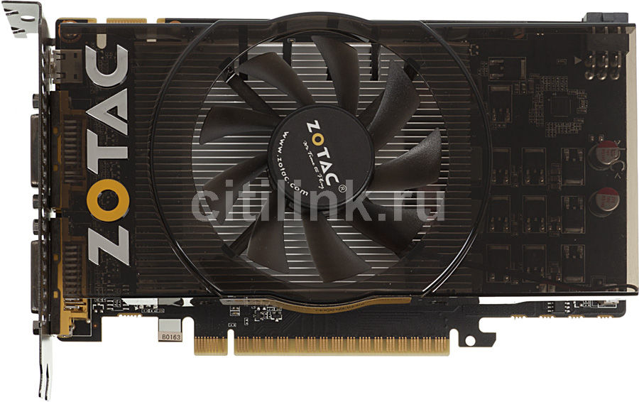Видеокарта ZOTAC GeForce GTS 450 Synergy, ZT-40510-10L,  1Гб, GDDR5, Ret