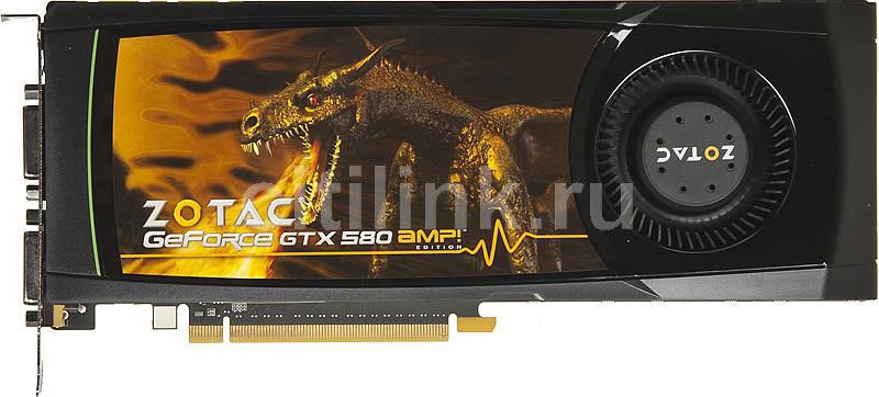 Видеокарта ZOTAC GeForce GTX 580,  1.5Гб, GDDR5, Ret [zt-50106-10p]