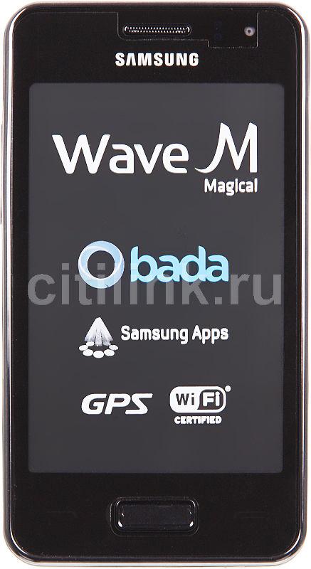 Смартфон SAMSUNG Wave M GT-S7250D  серебристый металлик