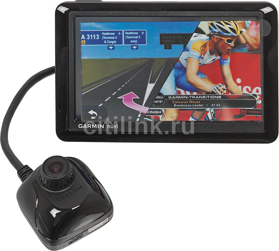 GPS навигатор GARMIN Nuvi 2585 LTR(+ видеорегистратор),  5