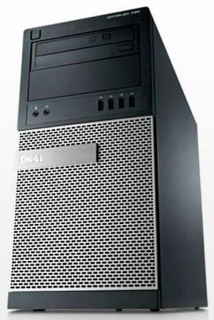 Компьютер  DELL Optiplex 790,  Intel  Core i3  2120,  DDR3 4Гб, 500Гб,  Intel HD Graphics,  DVD-RW,  Windows 7 Professional,  черный и серебристый [x117900103r]