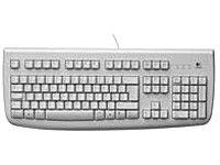 Клавиатура LOGITECH Deluxe 250,  PS/2, серый [967641-0112]