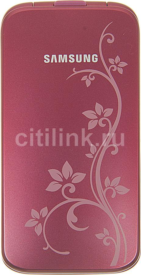 Мобильный телефон SAMSUNG La Fleur GT-C3520  розовый