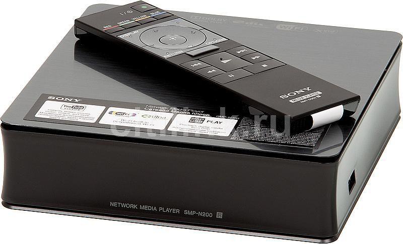 Медиаплеер SONY SMP-N200,  черный