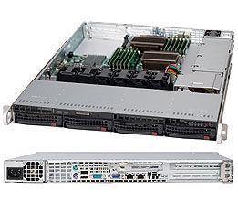 Корпус SuperMicro CSE-815TQ-600WB 1U