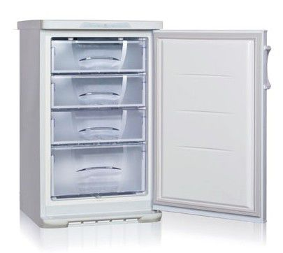 Морозильная камера БИРЮСА 148L,  белый