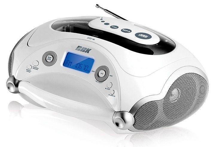 Аудиомагнитола BBK BX315U,  белый
