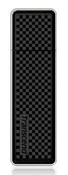 Флешка USB TRANSCEND Jetflash 780 8Гб, USB3.0, черный и серебристый [ts8gjf780]