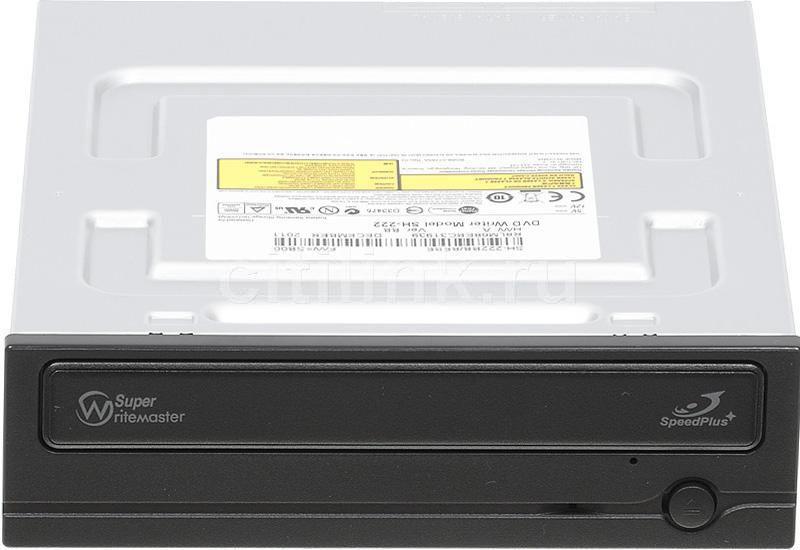 Оптический привод DVD-RW SAMSUNG SH-222BB/BEBE, внутренний, SATA, черный,  OEM