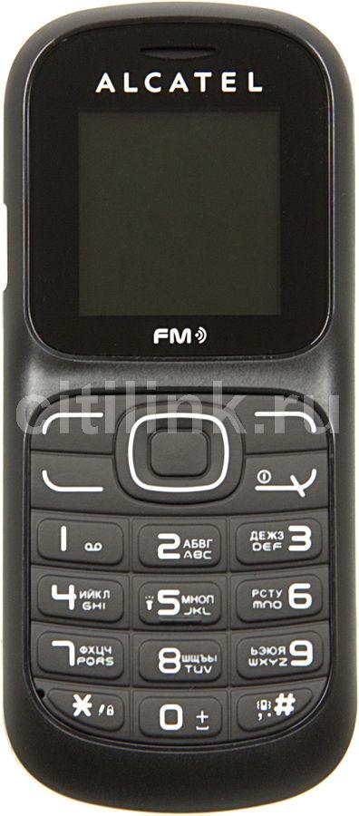 Мобильный телефон ALCATEL OT217D,  черный