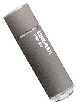 Флешка USB KINGMAX Pop PD-09 8Гб, USB3.0, серый