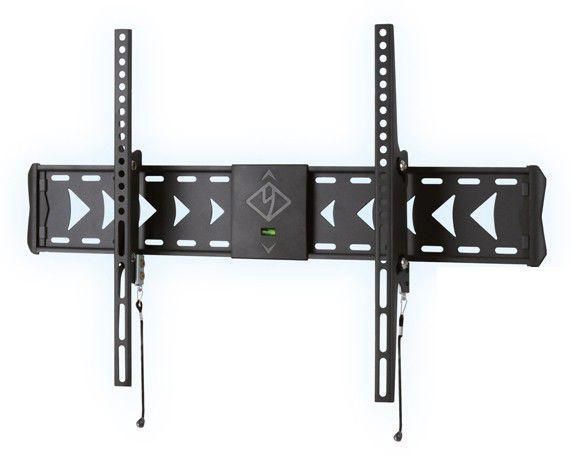 """Кронштейн для телевизора Kromax FLAT-2 темно-серый 32""""-65"""" макс.25кг настенный наклон"""