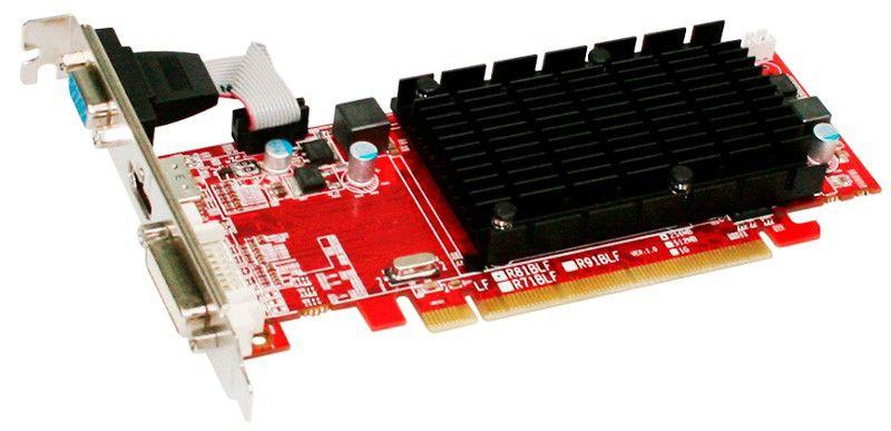 Видеокарта POWERCOLOR Radeon HD 5450,  512Мб, DDR2, Low Profile,  oem [ax5450 512md2-shv2]