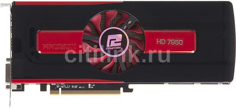 Видеокарта POWERCOLOR Radeon HD 7950,  3Гб, GDDR5, Ret [ax7950 3gbd5-2dh]