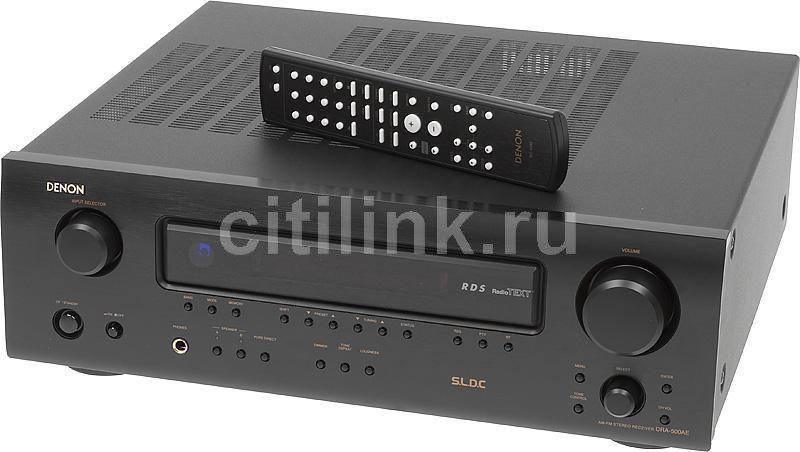 AV-ресивер DENON DRA-500AE,  черный