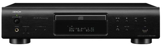 Плеер CD DENON DCD-710AE,  черный