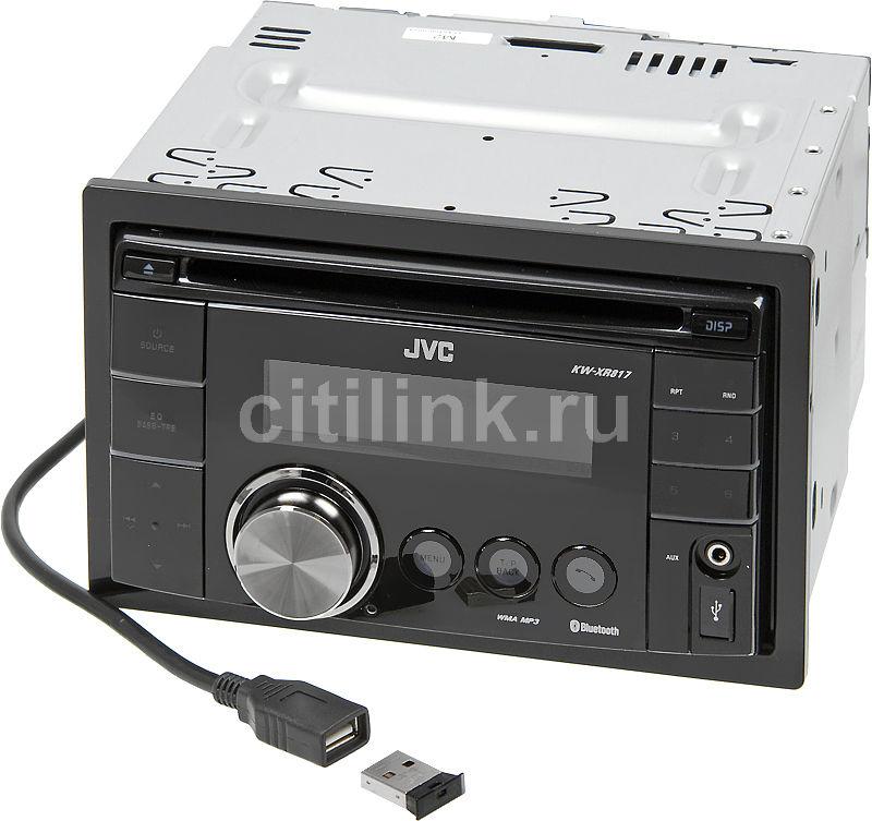 Автомагнитола JVC KW-XR817,  USB