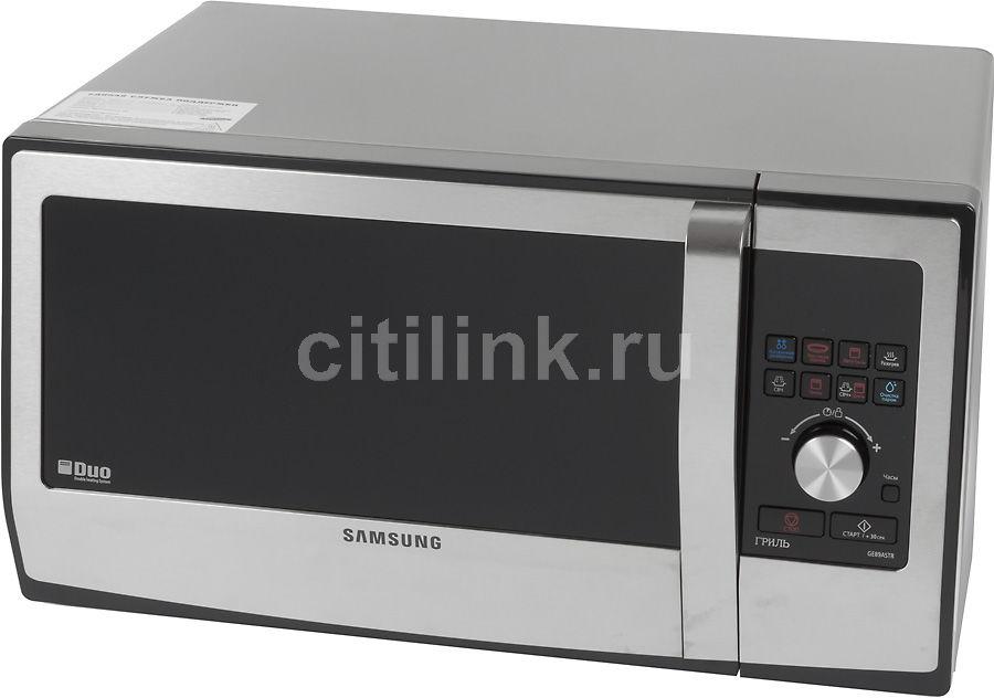 Микроволновая печь SAMSUNG GE-89ASTR, серебристый