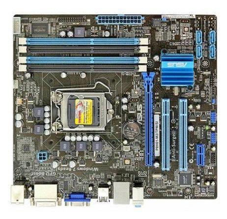 Материнская плата Asus P8H61-M2/SI Soc-1155 iH61 DDR3 mATX AC'97 GbLAN VGA