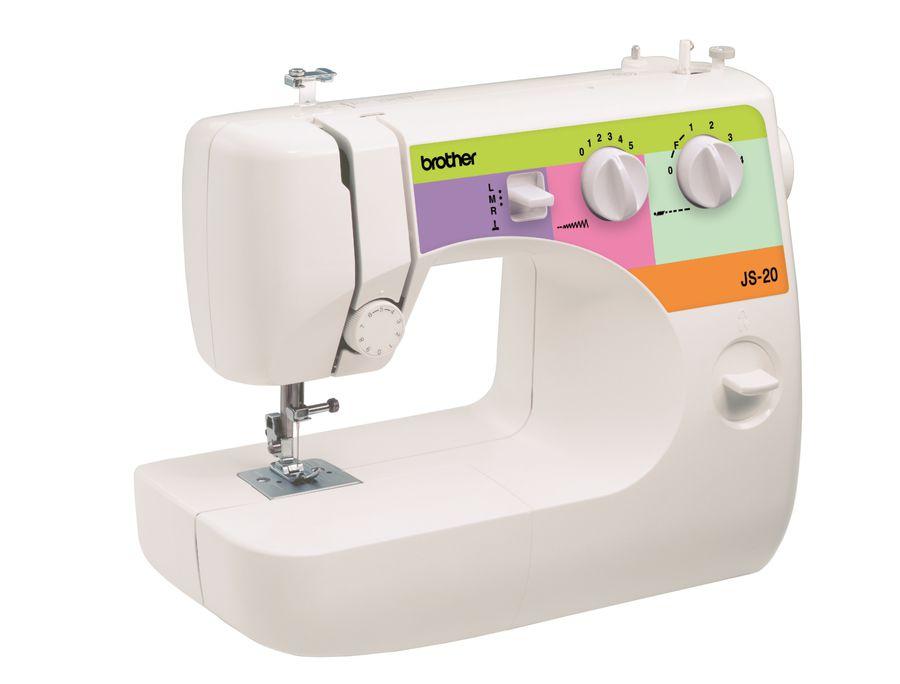 Швейная машина BROTHER JS20 белый [js 20]