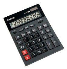 Калькулятор CANON AS-888,  16-разрядный, черный
