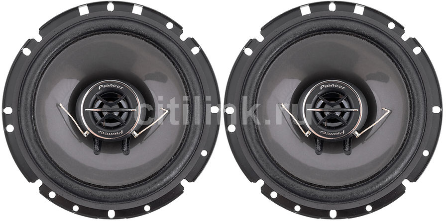 Колонки автомобильные PIONEER TS-1702I, коаксиальные, 170Вт, комплект 2 шт. xts srx led reverse lamp12v 6000k led bulbs t15 w16w 12vac 4014smd auto lights canbus backup lamp t15 led w16w external lights