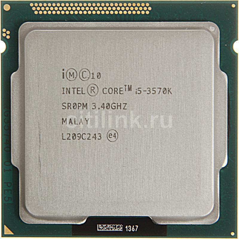 Процессор INTEL Core i5 3570K, LGA 1155 OEM [cm8063701211800sr0pm]