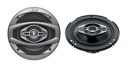 Колонки автомобильные JVC CS-HX638,  коаксиальные,  250Вт