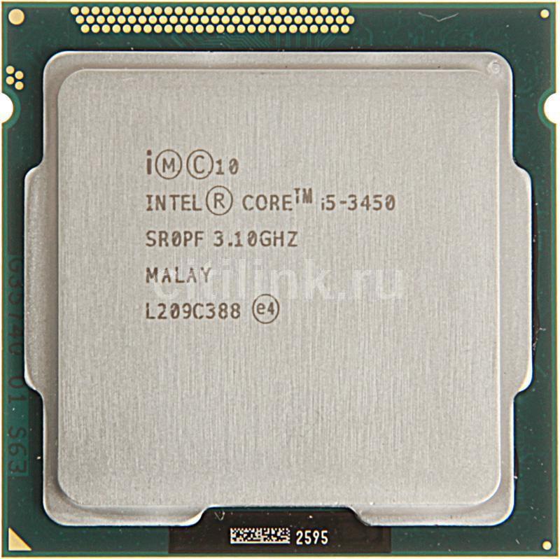 Процессор INTEL Core i5 3450, LGA 1155 OEM [cm8063701159406sr0pf]