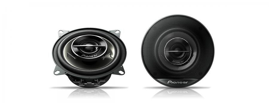 Колонки автомобильные PIONEER TS-G1022I,  коаксиальные,  190Вт