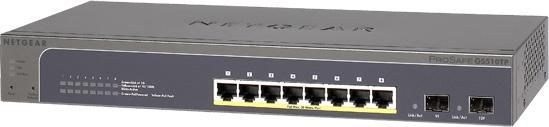 Коммутатор NETGEAR ProSafe GS510TP-100EUS
