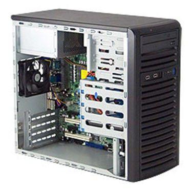 Сервер iRU ROCK 1104 1*E3-1220/2*2Gb/2*500SATA/DVDRW/300W/Mid-Tower
