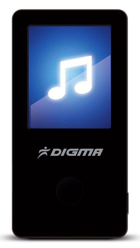 MP3 плеер DIGMA T2 flash 8Гб черный