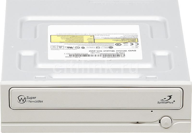 Оптический привод DVD-RW SAMSUNG SH-222BB/BEWE, внутренний, SATA, белый,  OEM