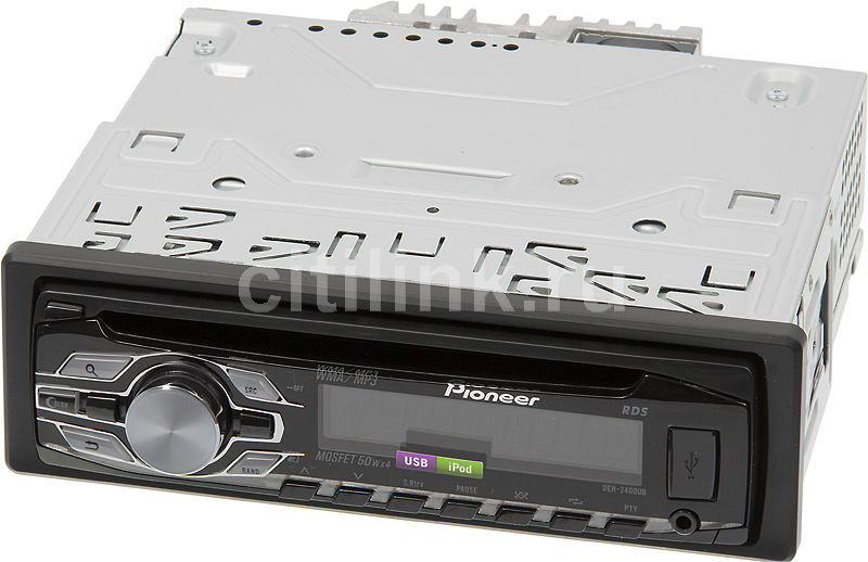 Автомагнитола PIONEER DEH-3400UB,  USB
