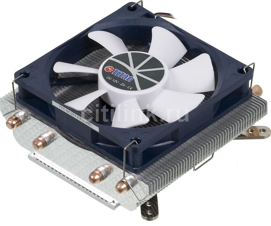 Устройство охлаждения(кулер) TITAN TTC-NC25TZ/PW(RB),  80мм, Ret