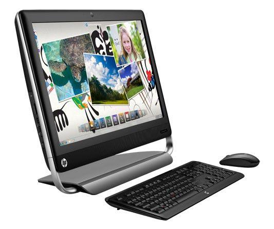 Моноблок HP TouchSmart 520-1106er, Intel Core i3 2120, 4Гб, 500Гб, AMD Radeon HD 7450A - 1024 Мб, DVD-RW, Windows 7 Home Premium, черный и серебристый [h1f74ea]