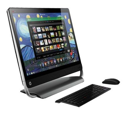 Моноблок HP Omni 27-1000er, Intel Core i3 2120, 4Гб, 500Гб, AMD Radeon HD 7450A - 1024 Мб, DVD-RW, Windows 7 Home Premium, черный [h1f63ea]