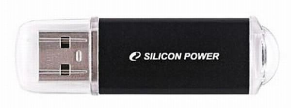 Флешка USB SILICON POWER Ultima II-I Series 32Гб, USB2.0, черный [sp032gbuf2m01v1k]