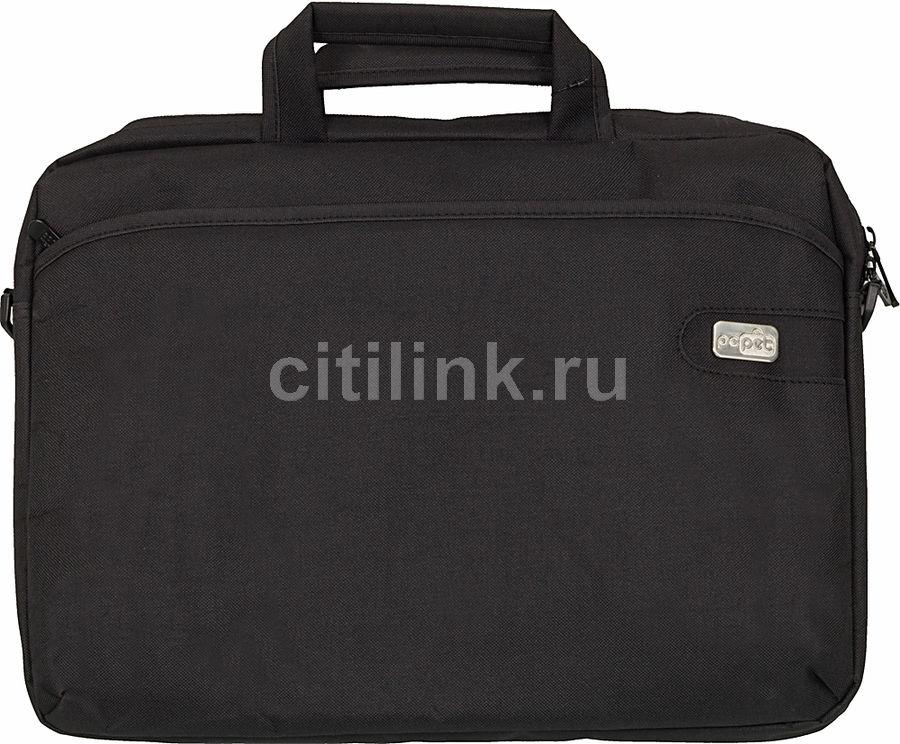 """Сумка для ноутбука 15.6"""" PC PET 600D, черный [pcp-a1215bk]"""